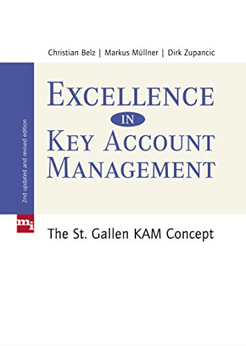 Excellence in Key Account Management: The St. Gallen KAM concept