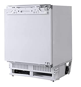 Russell Hobbs Integrated Under counter 60cm Wide Fridge, A+ Energy, White RHBU60FRIDGE, Free 2 Year Guarantee