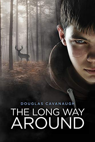 Front cover for the book The Long Way Around: A Journey Of Inspiration Set In Rural Iowa by Douglas Cavanaugh