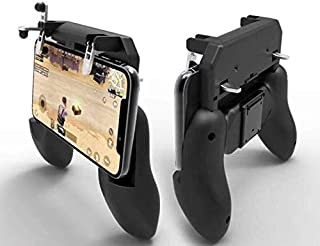 Mobile Phone W10 Gamepad Handle Wireless Controller Gaming Joystick Aim Key Shooter Trigger Fire Button Game Pad Android IOS