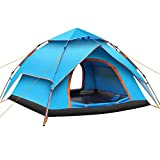 Camping Tent For Family 2-4 Person,Large Pop Up Tent Outdoor Sun Shelter Drizzle