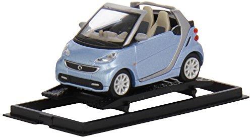 Busch Voitures - BUV46270 - Modélisme - Smart Fortwo Cabrio MOPF - Bleu Clair Métallisé