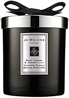 Jo Malone Intense Dark Amber & Ginger Lily Home Candle 200g - Pack of 2