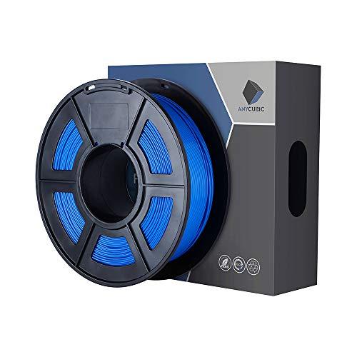 ANYCUBIC PLA Filamento 1,75 mm Stampante 3D Blu Filament PLA 1 kg di Spool per Stampanti 3D e Penna 3D