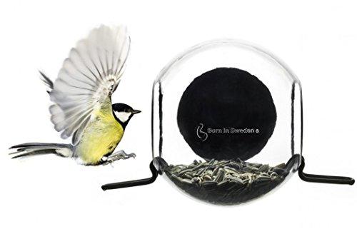 Born in Sweden bird feeder Vogelhaus