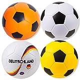 Sport-Thieme Soft-Fußball   Sehr gut Springender Indoor u. Outdoor Schaumstoff-Fußball   In Vier Designs   PU-Beschichtung  ø 200 mm   300 g   Markenqualität