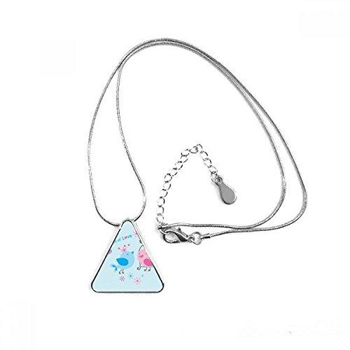DIYthinker Collar con Colgante en Forma de triángulo con Cadena para decoración...