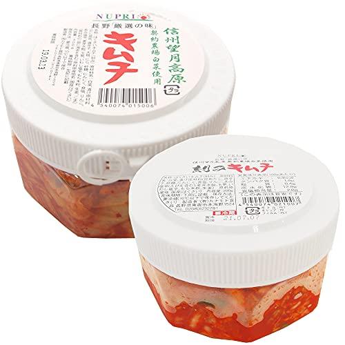 カナモト食品 信州望月高原白菜キムチ 300g・刻みキムチ200g 各6パック(合計12パック)