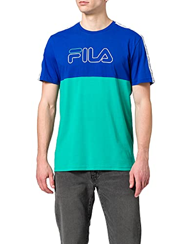 Fila Jopi Blocked Tape Camiseta, Surf The Web-Alhambra, L para Hombre