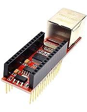 ENC28J60 درع إيثرنت V1.0 لدرع أردوينو نانو V3 إيثرنت شيلد RJ45 HR911105A وحدة الخادم مع دبابيس