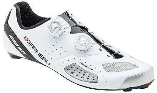Louis Garneau, Men's Course Air Lite 2 Road Bike Cycling Shoes, White, US (10.75), EU (45)