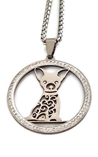 Marni's - Collar Mujer Perrito Chihuahua- Regalos Originales para Mujer - Colgante...