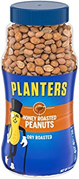 4-Pack 16-ounce Planters Dry Honey Roasted & Salted Peanuts