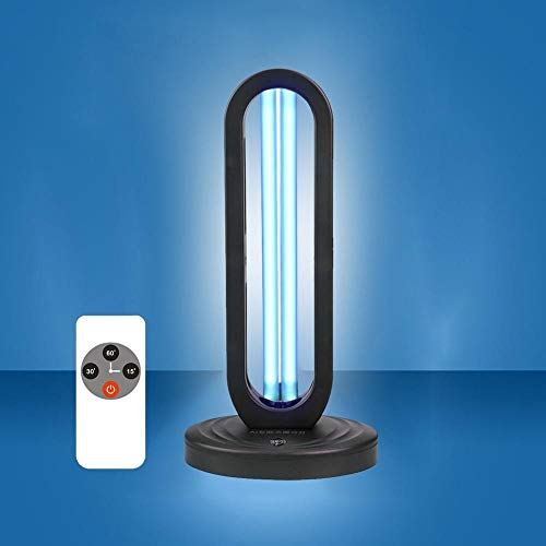 38 W UVC Kiemdodende Light Koelkast Air Sanitizer Purifier Geur Eliminators for Rooms Kasten Kledingkast Deodorizer Ozon Light (Wattage : EU Timer)