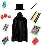 BrilliantMagic BMM011 Kids Easy Magic Tricks Set Box Includes Ten Great Magic Props