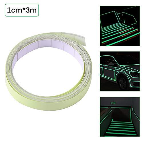 ONEVER 3M Lichtband Selbstklebende Glow In The Dark Sicherheitsstufe Aufkleber Wohnkultur