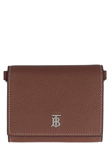 Luxury Fashion | Burberry Heren 8027158 Bruin Leer Portemonnees | Lente-zomer 20