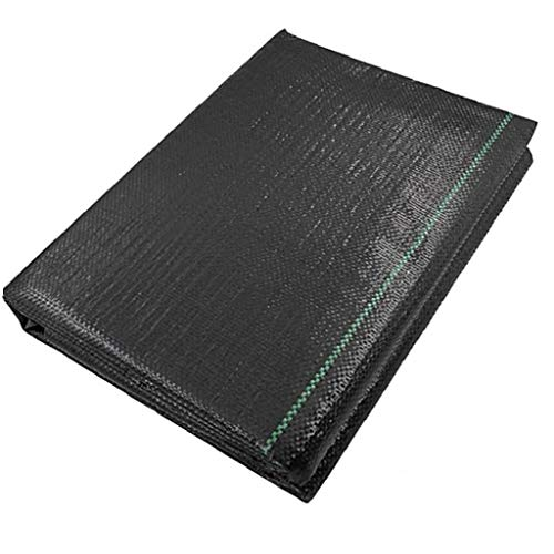 lulongyansf 1.5mx5m Tela del Paisaje de Tierra Cubierta de malezas Barrera de Membrana Heavy Duty Control de Las gramíneas de plástico Cubierta de Tierra