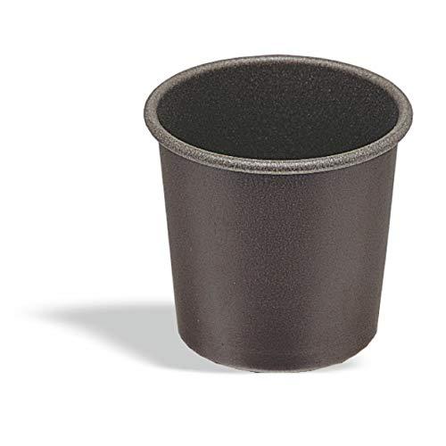 Pujadas P715.006 Lot de 6 moules Baba 6,5 cm de diamètre x 6 cm