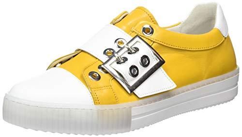 Gabor Shoes Damen Jollys' Sneaker, Gelb (Mango/Weiss 23), 40 EU