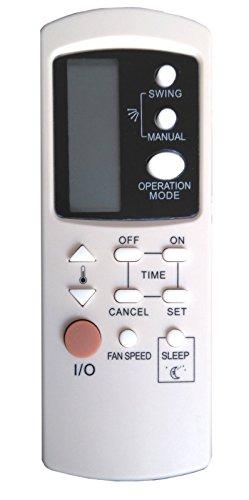 Telecomando per condizionatore Galanz 1002b-e3 funziona con Amstrad, Arco Air, Vaillant, Roadstar, Shaub Lorenz, Zephir ed altri climatizzatore e pompa di calore