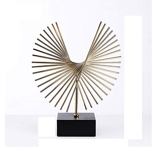 Chinesische Feng Shui Statue Resin Angel Wings, Simulated Abstract Open Eagle Art Model, Modern Nordic Decoration, Home Decor, Wings, TV, wine cabinet decoration Statue of Wealth Statues (Size : B)
