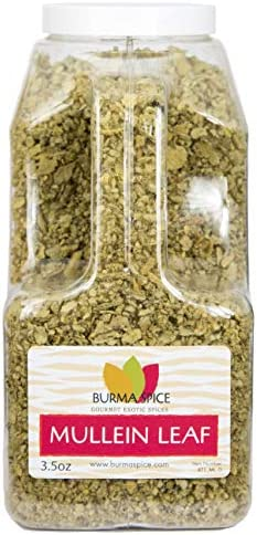 Mullein Leaf Herbal Tea Great Tasting with Fantastic Health Benefits 3 5 oz product image