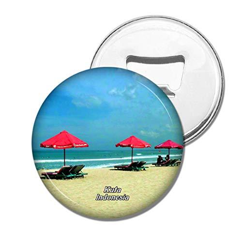 Weekino Indonesien Kuta Beach Bali Bier Flaschenöffner Kühlschrank Magnet Metall Souvenir Reise Gift