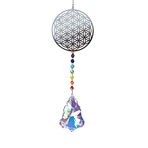 FISEYU Pendant Sparkling No Cracking Faux Crystal Drop Shape Hangings for Gift Wall Door DIY Pendant 5