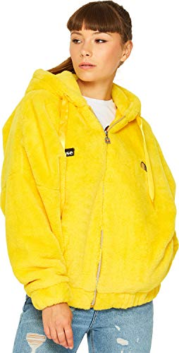 ellesse Giovanna W Fleecejacke Yellow