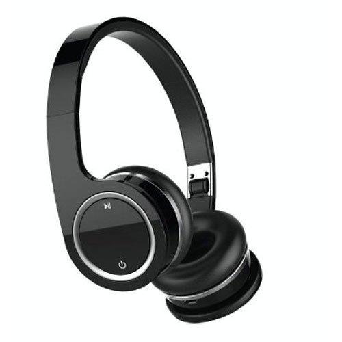 Nakamichi BTHP03 Series Bluetooth On-The Ear Headphones - Retail Packaging - Black