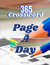 365 Crossword Page A Day: Crossword puzzle dictionary 2019 Puzzles & Trivia Challenges Specially Designed to Keep Your Brain Young. Big & Easy Crosswords Puzzle Book