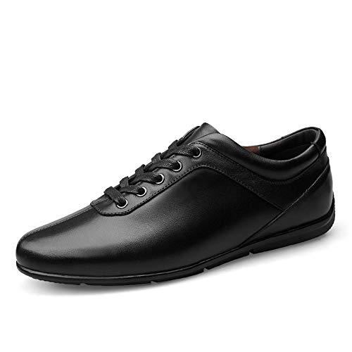 Heren Classic Honourable Oxfords Herenmode comfortabele klassieke slaapbeurs casual outdoor-sneakers mode snoeren Oxfords lage platte wandelschoenen ronde kap ademend comfort lichte slip
