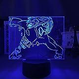 DGUOHAC Luz de Noche para niños decoración de Dormitorio, luz de Mesa de Color Claro, Regalo