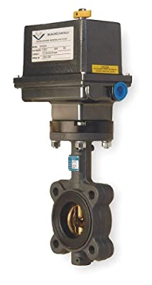 Butterfly Valve, Electric, Size 2 In from Milwaukee Valve
