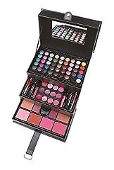 Idea Regalo - ZMILE Cosmetics Valigia per il Trucco 'Beauty Case' black