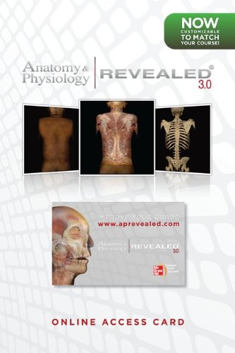 Student Access Card Anatomy & Physiology Revealed Version 3.0