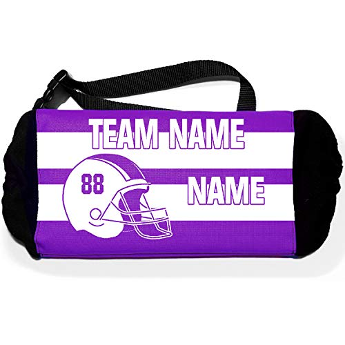 Sportwaves Custom Football Hand Warmer for Quarter Back, Players and boosters (Purple)