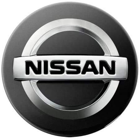 4 Stück Auto Radnabenkappen für Nissan Juke Note Micra Qashqai,3D Aluminium Felgenkappen mit Logo Auto Radnabenabdeckung Kappen Aufkleber Zubehör
