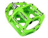 Evetin Ultra-Light Plattform Mountainbike/MTB/Flat Pedale, Magnesium Trekking Pedale Fahrrad mit...