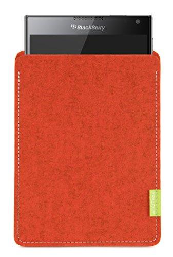 WildTech Sleeve für BlackBerry Passport Hülle Tasche - 17 Farben (Handmade in Germany) - Rost
