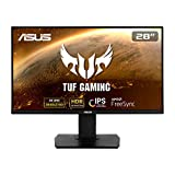 ASUS TUF Gaming VG289Q, 28'' 4K (3840x2160) Gaming monitor, IPS, 90% DCI-P3, DP, HDMI, FreeSync, Low Blue Light, Flicker Free, Shadow Boost, HDR 10