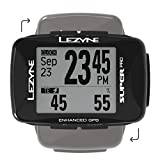 LEZYNE Super Pro Performance GPS Bike/Cycling Computer | 28H Runtime, USB Rechargeable, ANT+ & Bluetooth Smart, Mountain & Road Bikes