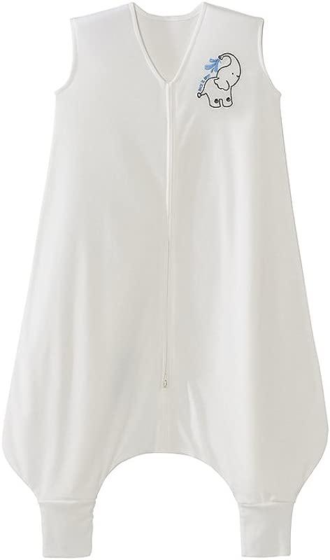 Halo Early Walker SleepSack Wearable Blanket 100 Poly Knit Elephant Cream Large