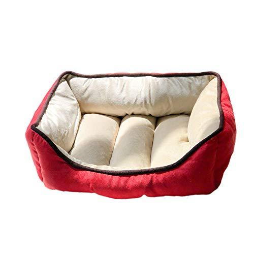 Ygccw Memory Foam Pluche Hond Bedden Hondenmand Bed Dekens Lounger Huisdier benodigdheden Cashmere kleine hond Chihuahua kat nest stevig bestand tegen beet en sterke, 48 * 38cm