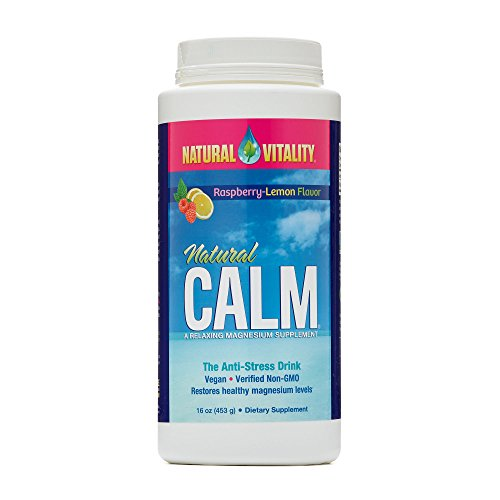 Natural Vitality Natural Calm 16oz Raspberry Lemon