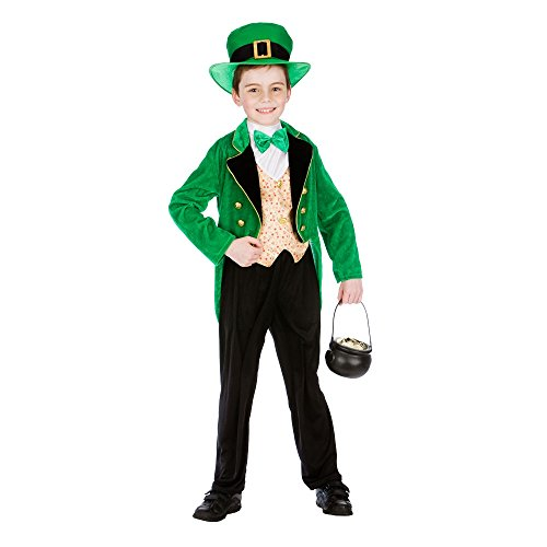 Leprechaun Boy Deluxe - Kids Costume 11 - 13 years