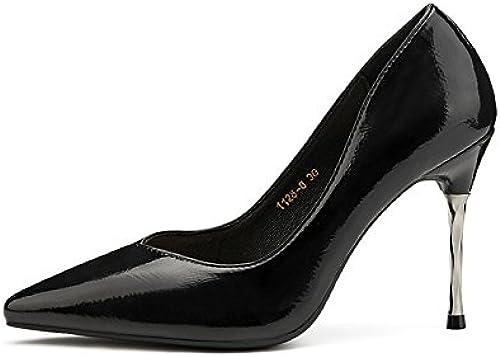 FLYRCX Chaussures à à Talons Simples de la Mode européenne Simples Chaussures Pointues Les Les dames élégantes Chaussures de Parti de tempéraHommest  jusqu'à 42% de réduction