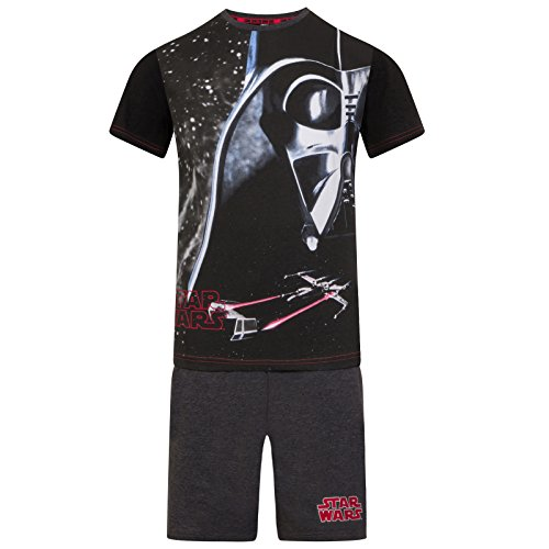 Star Wars - Jungen Schlafanzug mit Darth Vader-Motiv - kurz - Offizielles Merchandise - Geschenk - 9-10Jahre