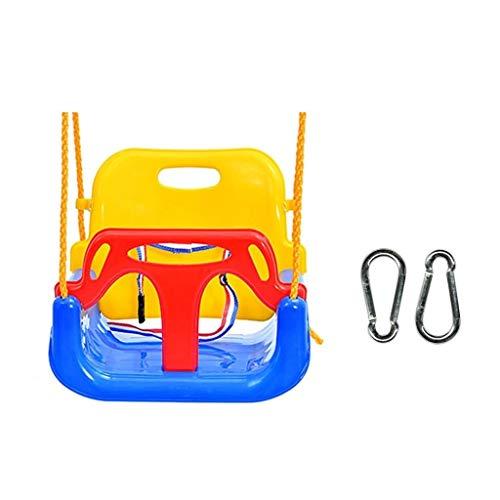 Balançoire Combinaison de suspension for siège pivotant for enfants, trois en un, for intérieur et extérieur Balançoire for bébé à 5 couleurs 5 couleurs Siege Suspendu (Color : Blue-A)